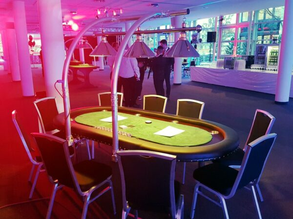 Pokertisch mieten mobiles Casino