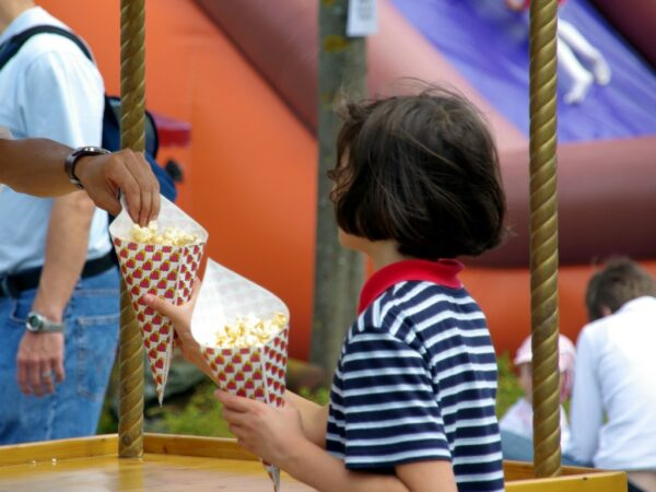 Popcornmaschine Vermietung 6oz Popcornstand