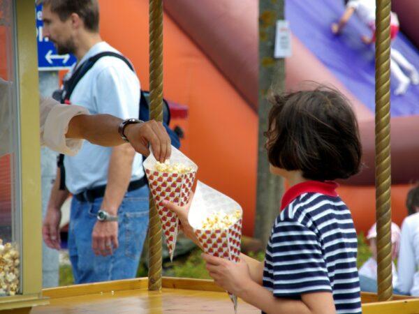 Popcornmaschine mieten 12oz Popcornstand