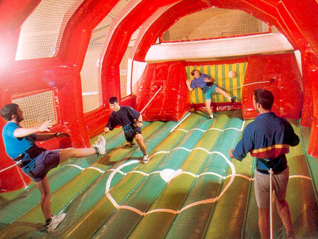 Power Soccer Sportarena Bungeefußball