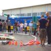 RC Offroadparcours mit ferngesteuerten Autos