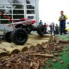 RC Offroadparcours mit ferngesteuerten Autos Rock Crawling