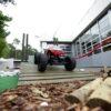 RC Offroadparcours mit ferngesteuerten Buggies