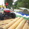 RC Offroadparcours mit ferngesteuerten Modellautos