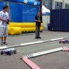 RC Rennparcours mit ferngesteuerten Modellautos Strandbuggies
