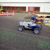 RC Rennparcours mit funkferngesteuerten Renntrucks