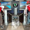 Rennradsimulator Doppelmodul mieten Radsportsimulator Messestand