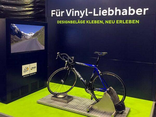 Rennradsimulator Einzelmodul mieten Tour de France Fahrradsimulator