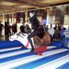 Rentier Rodeo mieten Rentierreiten