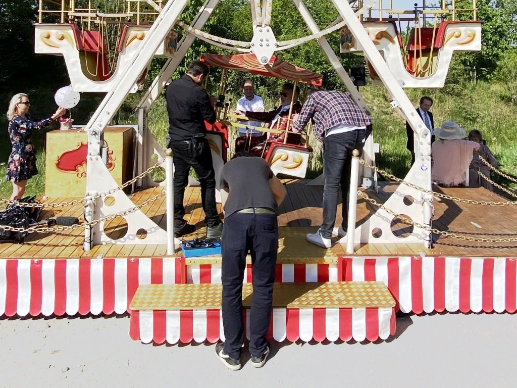 Riesenrad Hochzeit Froonck RTL Vermietung