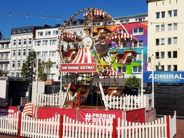 Riesenrad mieten Branding Eine Runde Astra Hamburg