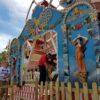 Riesenrad nostalgische Wolkenreise Nostalgie Riesenrad Rundrum Peter Petz