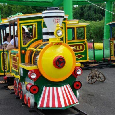 Rio Bravo Express Schieneneisenbahn Westernbahn