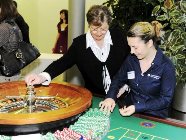 Roulettetisch mieten mobile Casinotische