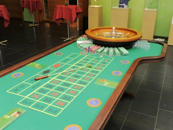 Roulettetisch mieten mobiles Casino