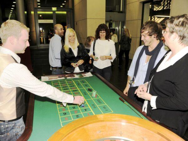 Roulettetisch mieten mobiles Casinoevent