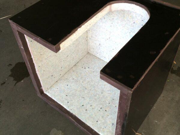 Schallschutzbox für Hüpfburgengebläse mit speziellen Schallschutzmatten