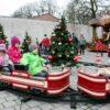 Schieneneisenbahn Kindertraumlandexpress Weihnachtsexpress