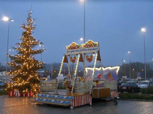 Schiffschaukel Seepferdchen Weihnachtsmarkt mieten