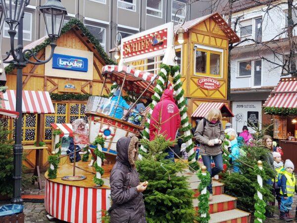 Schiffschaukel mieten Nürnberger Christkindlesmarkt