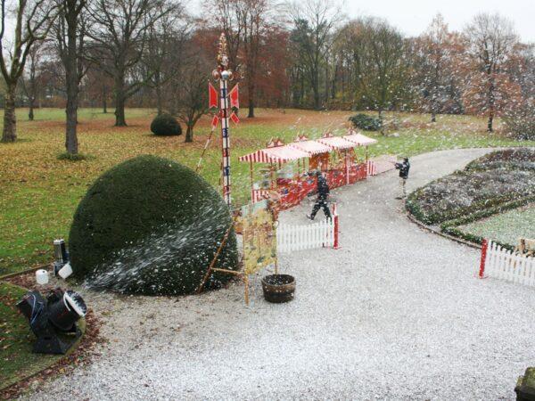 Schneekanone mieten Schneemaschine Schneefluid