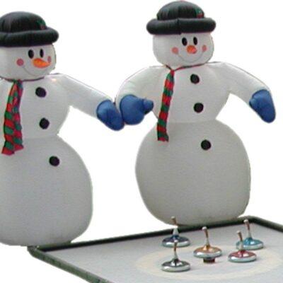 Schneemann aufblasbar mit Innenbeleuchtung mieten