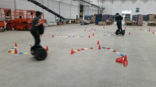 Segway Parcours Training Vermietung