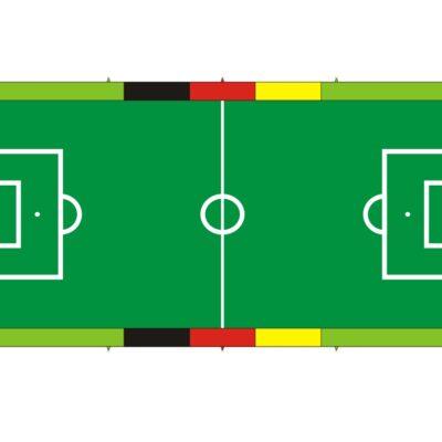 Soccer Court L - Bodenplane in Spielfeldoptik zum Schutz des Untergrunds