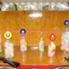 Spieleinsatz Korkenschießen Schießsaloon