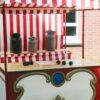 Spieleinsatz Milchkübelwerfen mieten bayrische Oktoberfestolympiade