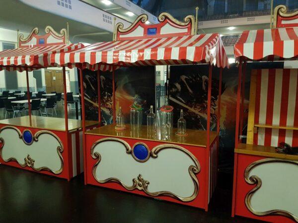 Spieleinsatz Ringewerfen Nostalgiesstand mieten