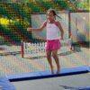Trampolinanlage für Sportevents
