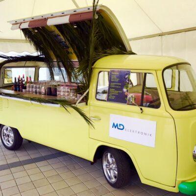 VW T2 Bullibar mieten mobiler Cocktailbus