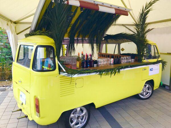 VW T2 Bullibar mit oder ohne Barkeeper und Cocktails mieten