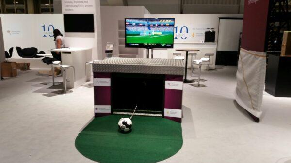 Virtual Goalkeeper Pro Elfmetersimulator mieten