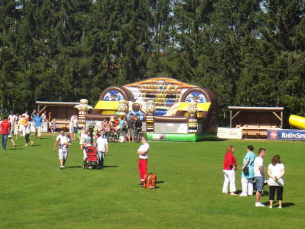 Voodoo Funpark Abenteuerhüpfburg Indianerhüpfburg (1)