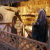 Weihnachtskrippe XXL mit lebensgrossen Krippenfiguren Maria Josef Jesuskind