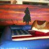 Western Dekovorhang Cowboy mieten Fotoshooting