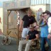 Westernparty Deko Kulissenwand Sheriff Office Gefängnis mieten