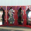 Zerrspiegel Kabinett mieten Eventdekoration Eingangsbereich Messestand
